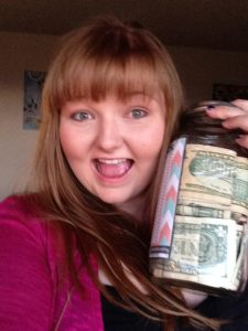 This is when I was doing the money challenge! It was so easy and fun!